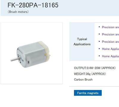 Mabuchi FF-050SH-11190 DC 6V-12V 14500RPM Micro Motor with Reduction Gear Group