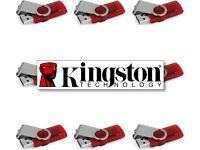 QUANTITY: 10 - 8GB - KINGSTON DataTraveler 101 G2 - USB Drive Flash Memory Stick - Job Lot JobLot
