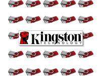 QUANTITY: 25 - 8GB - KINGSTON DataTraveler 101 G2 - USB Drive Flash Memory Stick - Job Lot JobLot