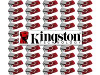 QUANTITY: 50 - 8GB - KINGSTON DataTraveler 101 G2 - USB Drive Flash Memory Stick - Job Lot JobLot 💾