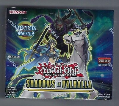 YuGiOh Shadows in Valhalla 1st Ed English Box Factory sealed