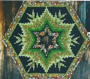 Bargello Tree Skirt quilt pattern by Martha Eddy
