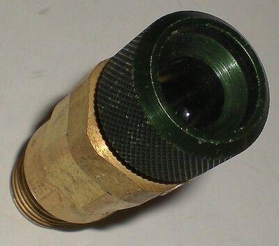 Weld Welding Oxygen Oxy Acetylene Western Quick Coupler Hose Torch Qdb1019 Green