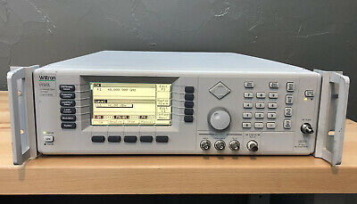 Wiltron 69369a Ultra Low Noise Sweeper Signal Generator 10 Mhz - 40 Ghz Loaded