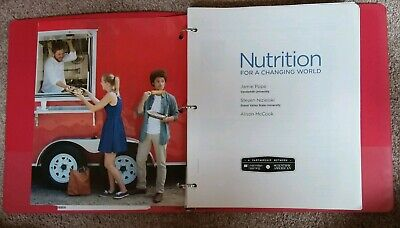 ASU NTR 100 Scientific American Nutrition for a Changing World Loose-Leaf