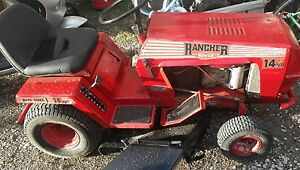 Rover Rancher ride on mower with trailer Baulkham Hills The Hills District Preview