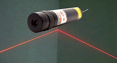 Focusable 638nm 100mw Red Laser Line Modulebuilt By Cylindrical Glass Lens