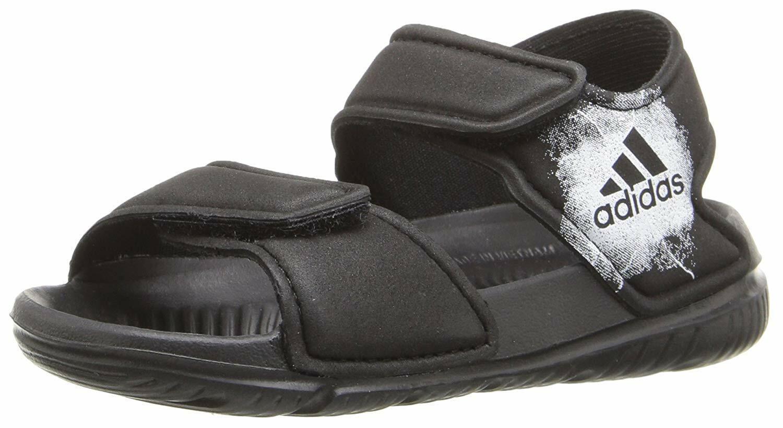 adidas AltaSwim I Toddler Boys Black/White BA9282 Beach Sandals