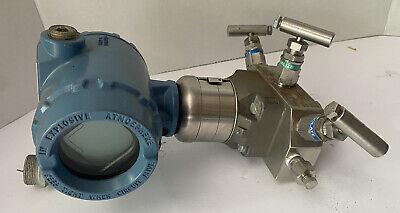3051s Rosemount New Pressure Transmitter Supermodule Supply 10.5-42.4 Vdc