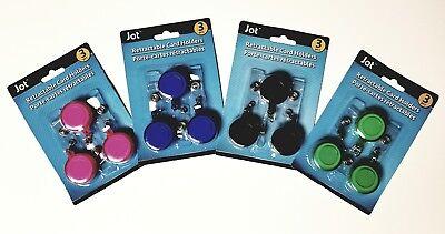 3 Pack Retractable Badge Reel Key Card Holder Reel Clip For Id Badge Holder