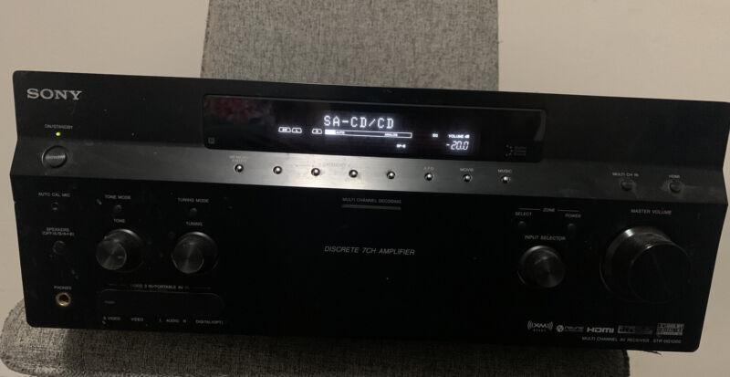Epic Unbeatable Sound Quality Sony STR-DG1000 Home Theater Receiver HDMI Genuine
