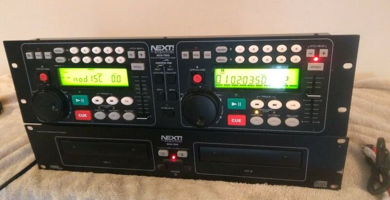 NEXT! by Stanton NCD-7000 dual Cd Professional Dj Player