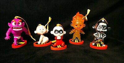 Disney Incredibles 2 Baby Jack Jack Christmas Ornament set fire, baby, monster