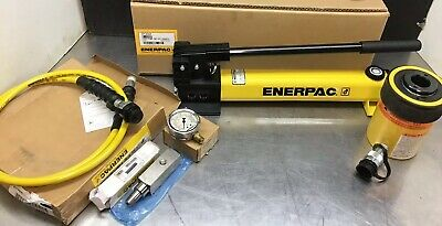 Enerpac Sch-302h Pump Hollow Cylinder Set 30 Ton Capacity Rch302 P392 10000 Psi