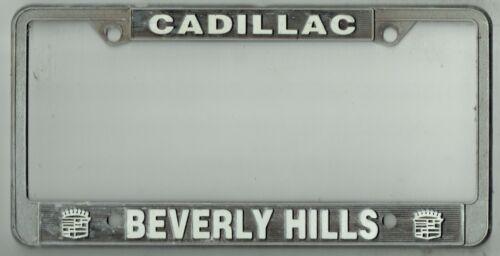 Beverly Hills California Cadillac Vintage Los Angeles Dealer License Plate Frame