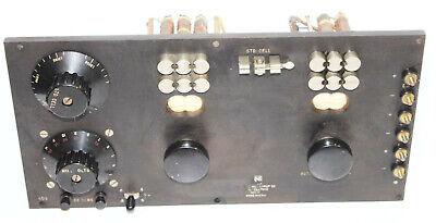 Vintage Leeds Northrup Resistance Decade Box Test Meter 1008804 Lab Movie Prop
