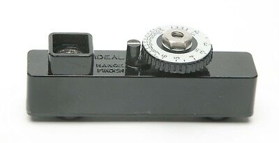 "Vintage External Above The Camera Rangefinder Unit ""Deal"". Made In USA."