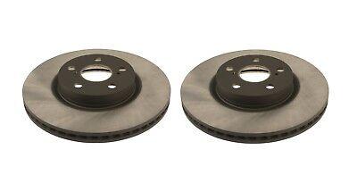 Front Left & Right Disc Brake Rotors OEM Set Genuine for Toyota Corolla (Front Left Brake Disc Rotor)