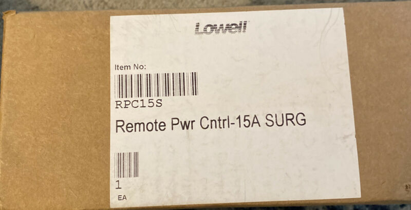 LOWELL RPC-15 REMOTE POWER CONTROL