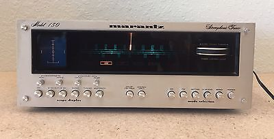 Vintage Marantz Model 150 Stereophonic Tuner TESTED & WORKING *Read!