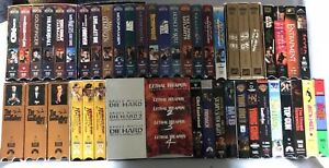 53 VHS Movies over 100 hours of Entertainment!