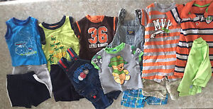 Baby boy size 6 months Lot # 4 summer clothes