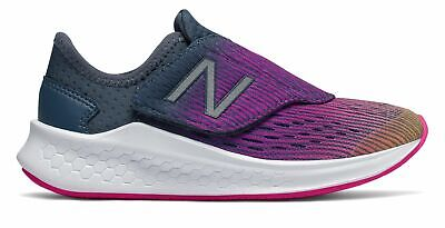 New Balance Kid's Fresh Foam Fast Little Kids Female Shoes Orange with Pink &