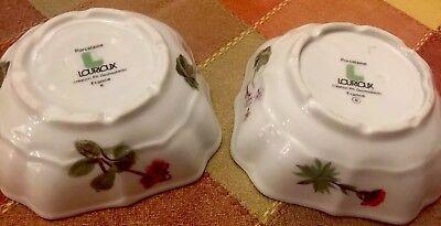 (2 Flower Porcelaine Creation L. Lourioux Ph. Deshoulieves France)