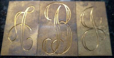 New Hermes Master Copy Engraving Interlocking Monogram Font 79 Pcs W Wood Box