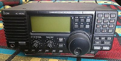 iCom IC - R75 Communications Receiver