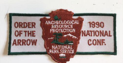1990 NOAC National Park Service Staff Patch