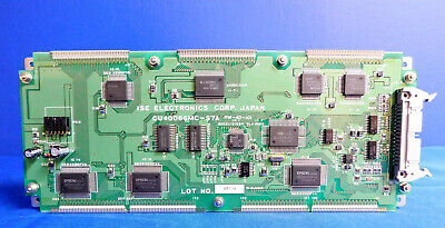 Ise Electronic Cu40066mc-s7a Display Board Assembly
