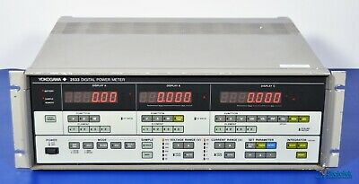 Yokogawa 2533-13 Digital Power Meter 3-phase Nist Calibrated Three Phase 253313