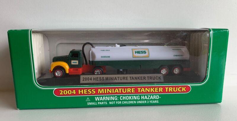 Hess Truck Mini 2004 Miniature Tanker Truck New In Box