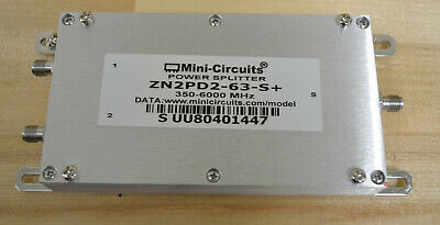 Mini Circuits Zn2pd2-63-s Rf Power Splitter 350-6000mhz Qty Available Good
