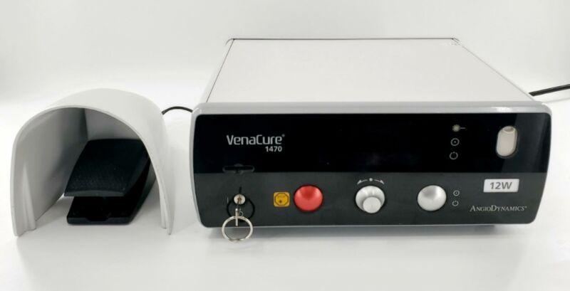AngioDynamics VenaCure 1470 Endovenous Laser Treatment System with Footswitch