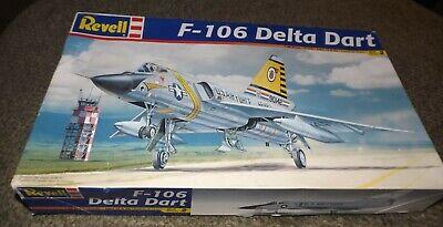 Revell 1/48 Convair  F-106 Delta Dart  USAF Interceptor + Extras Parts  - NIOB for sale  Santee