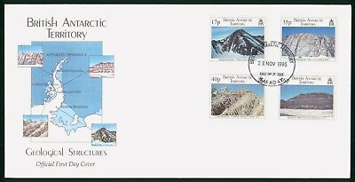 Mayfairstamps British Antarctic Territory 1995 Geological Structures First Day C