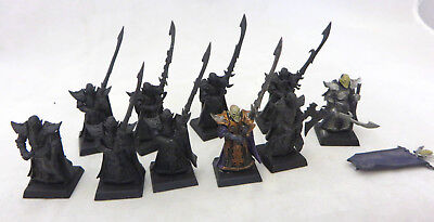 Warhammer Dark Elf Aelf Executioneers army lot 10 these are  $60.00 at GW