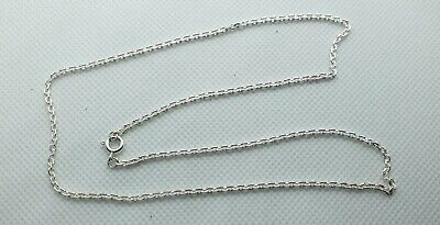 GOOD QUALITY STERLING SILVER BOX LINK CHAIN 18