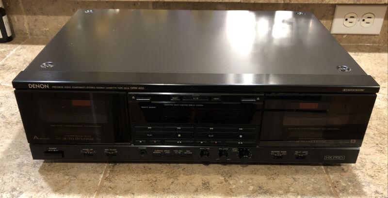Denon DRW-850 Cassette Recorder/Player