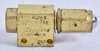 Clippard 3-way Valve Mjv-3 Cs-260