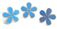 Massonico Set Di 3 Fiore Forget Me Non 11mm Smalto Spilla Distintivi -  - ebay.it