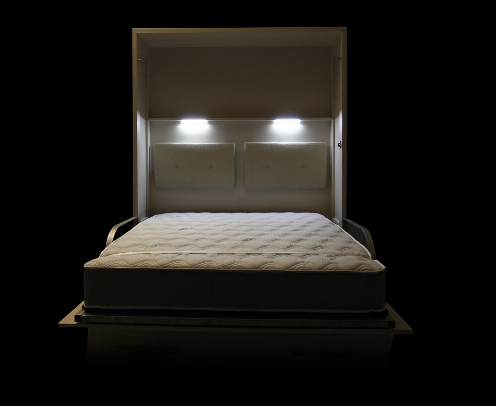 schrankbett wandbett klappbett sofa wbs 1 soft 140 x 200 cm holz buche wei eur. Black Bedroom Furniture Sets. Home Design Ideas