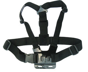 US Adjustable Chest Body Harness Belt Strap Mount F Gopro HD Hero 2 3 3+  Camera