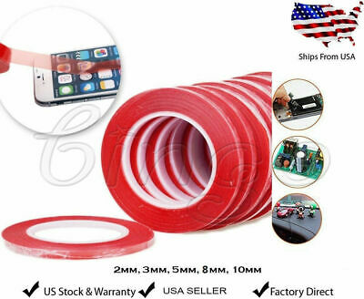3M RED Double Sided Super Sticky Heavy Duty Adhesive Tape For Cell Phone Repair 3 Adhesive Sticky
