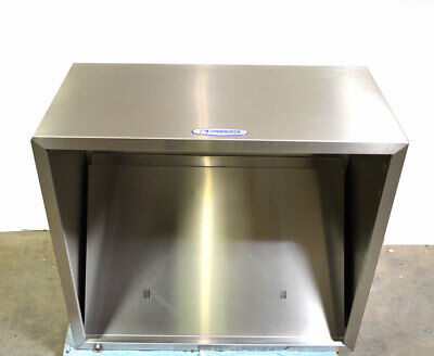 Greenheck Gd2 4-ft Condensate Hood Dishwasher Exhaust Steam 48wx42dx24h Fan