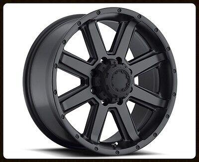 """16"""" X 8"""" ULTRA 195 CRUSHER RIMS & TOYO LT255-85-16 OPEN COUNTRY MT TIRES WHEELS"""