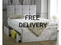 BRAND NEW * Luxury Divan Beds * Made to Order * Free delivery + headboard 👍