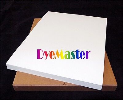 Dyemaster Sublimation Paper For Ricohepson Printer 8.5 X 11 Sheets